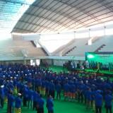 Kuatkan Budaya Kerja, DLH Kota Malang Gelar Konsolidasi Akbar, 1.013 Pegawai Birukan Gor Ken Arok
