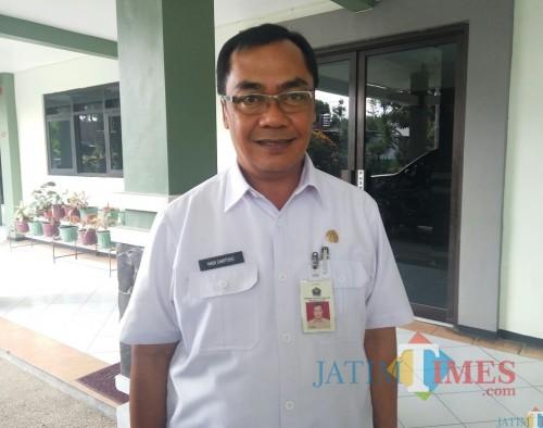 Kepala DPUPR Kota Malang, Hadi Santoso (DPUPR for MalangTIMES)