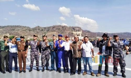 Panglima Komando Armada II Ajak Peserta Bela Negara Sadar Ancaman Asing