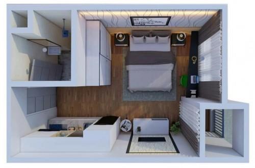 Apartemen Prestisius The Kalindra Tawarkan Ukuran Studio Terluas dengan Harga Miring
