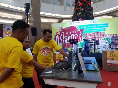 Spektra Meriah di Royal Plaza Surabaya