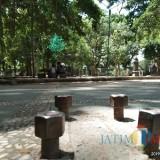 Fasilitas Fitness Alun-alun Tulungagung Tersisa Bautnya Saja