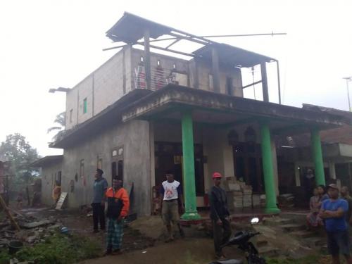 Giliran Kecamatan Ngantang Diterjang Hujan Diiringi Angin Kencang, Belasan Rumah Warga Rusak