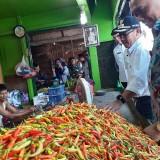 Keliling Pasar, Wali Kota Sutiaji Pastikan Kebutuhan Bahan Pokok Aman pada Libur Tahun Baru
