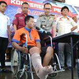 Panjahat Spesialis Pecah Kaca Mobil Ditembak Polisi