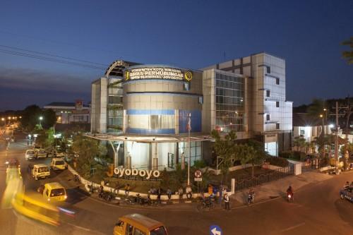 Terminal Intermoda dan Gedung Parkir Joyoboyo Berkonsep Green Building