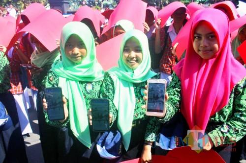 Launching Malang Cilin Digital Access, Langkah Pemkot Ajak Kaum Milenial Baca dengan Gawai