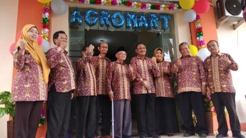 Suasana saat pembukaan atau launching Agromart Unikama (ist)