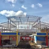 Pembangunan Pasar Sayur Tak Selesai, Pelaksana Minta Tambahan Waktu