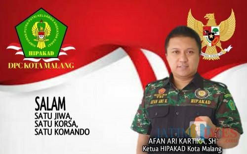 Pimpin HIPAKAD, Afan Ari Kartika Berkomitmen Turut Bangun Kota Malang