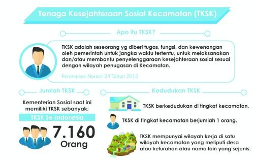Grafis terkait TKSK Indonesia (Kemensos RI)