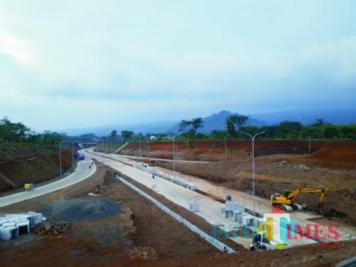 Pembangunan jalan tol Mapan telah usai dan bersiap melanjutkannya ke Malang-Kepanjen (dok MalangTIMES)