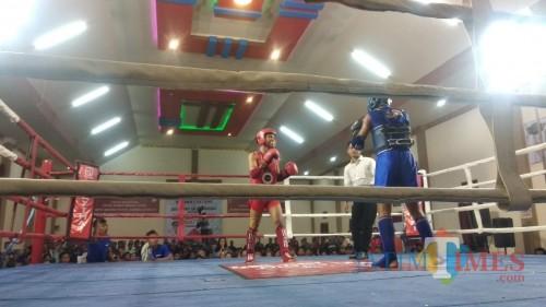 One Day Fight Muay Thai, Wabup Blitar Ajak Pemuda Cetak Prestasi