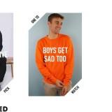 Keren, Brand Fashion Ini Buat Busana Peduli Kesehatan Mental Khusus Cowok