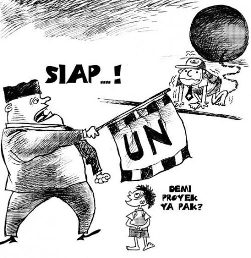 Ilustrasi UN (Kartun Martono wordpress)
