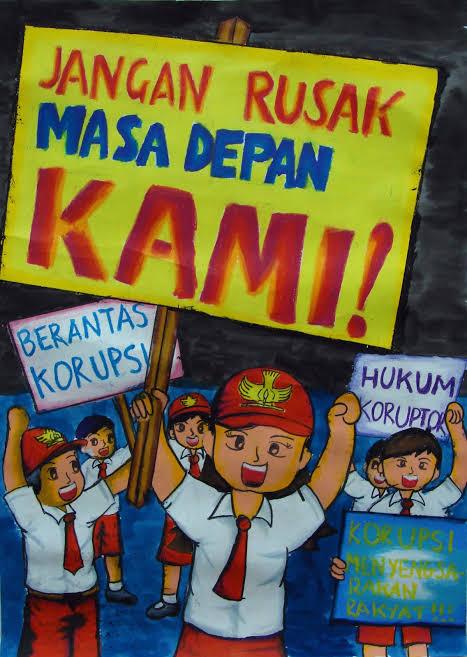 Lewat Vlog dan Puisi, Pelajar Kabupaten Malang Dikenalkan Anti-Korupsi