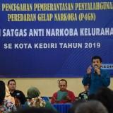 200 Satgas Anti Narkoba se Kota Kediri Mendapat Pelatihan P4GN