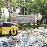 8 Kecamatan Masuk Zona Rawan Peredaran Miras, Kurang dari Sebulan 2.150 Botol Miras Disita Polisi
