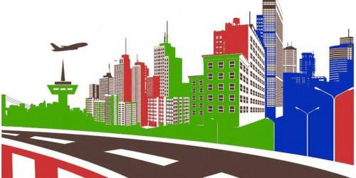 Ilustrasi pembangunan jalan tol dan bandar udara (Ist)