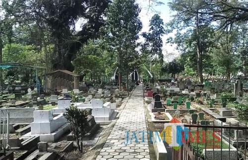 Pemakaman Kasin, salah satu makam yang dikelola Pemkot (Doc MalangTIMES)
