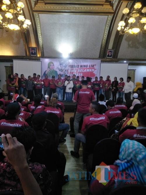 Setelah Launching Nawa Tirta, 38 Relawan Deklarasi Dukungan untuk Ning Lia