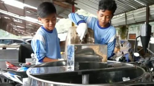 Siswa SMP PGRI Desa Paras Kecamatan Poncokusumo Kabupaten Malang