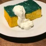 Mirip Spons Cuci Piring, Mau Coba Cake Ini?