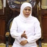 Gubernur Khofifah Bela Sungkawa Wafatnya Ibu Marie Basofi Soedirman