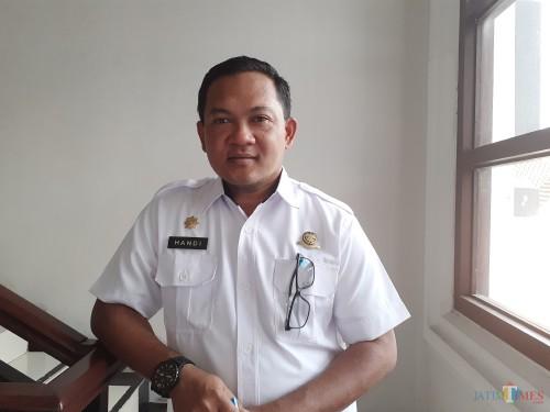 Kepala Dinas Perhubungan Kota Malang, Handi Priyanto (Dokumentasi MalangTIMES)