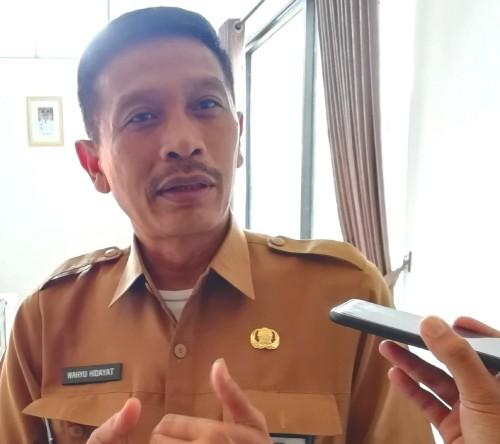 Kepala DPKPCK Kabupaten Malang Wahyu Hidayat menyampaikan program bedah rumah plus-plus untuk tahun 2020 (foto: Nana/ MalangTIMES)