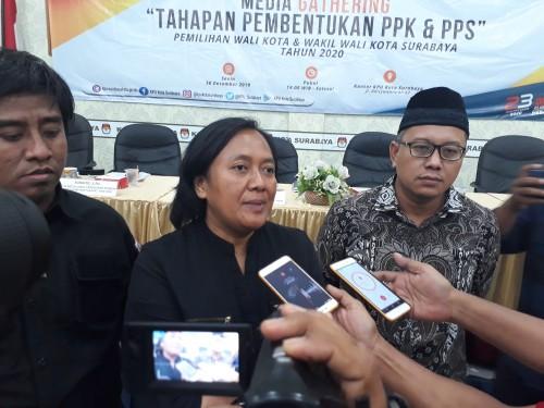 KPU Surabaya Beri Kesempatan 30 Persen Perempuan di PPK dan PPS