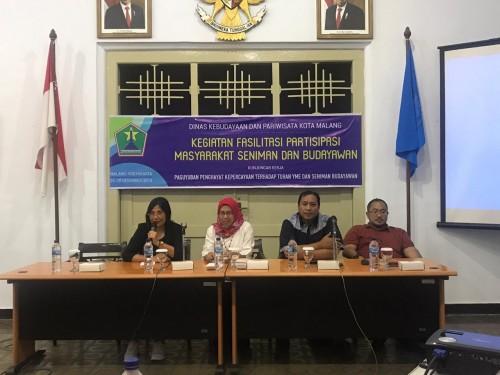 Dorong Penghayat Kepercayaan Urus SKT, Disbudpar Kota Malang Lakukan Ini