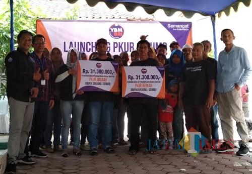 Tingkatkan Taraf Hidup Mustahik, YBM-BRI Blitar Launching Program PKUR