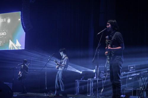 Band rock asal Kepanjen, Oddwain. (Foto: Burhan Yayan for MalangTIMES)