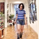 Rumah Yuni Shara Kebanjiran, Warganet Malah Ramai Bahas Pose dan Boots-nya