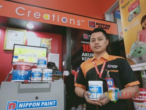 Graha Bangunan terus memberikan pelayanan dan produk terbaik bagi customer.(Foto : Aunur Rofiq/BlitarTIMES)