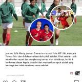 Pemain Timnas Bola Putri Disebut Alami Diskriminasi dari Sekolah, Ini Penjelasan Dinas Pendidikan Kota Batu