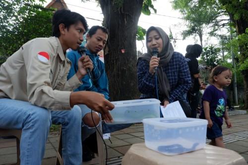 Ketemu Ular, Komunitas Reptile Malang Sarankan STOP