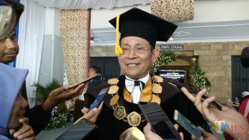 Rektor UB Prof Dr Ir Nuhfil Hanani AR MS (Foto: Imarotul Izzah/MalangTIMES)