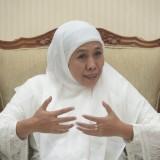 Baru Sampai dari Umrah, Gubernur Khofifah Pimpin Rapat Tanggap Bencana