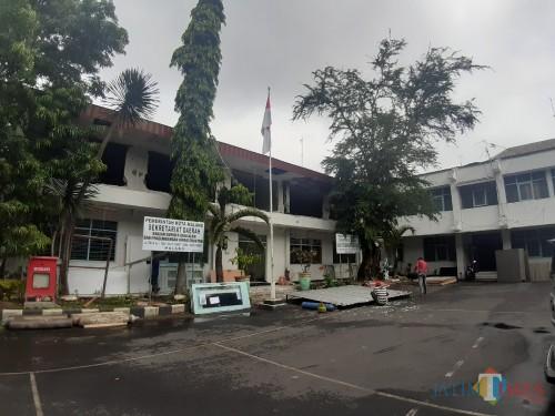 Kondisi terkini gedung di area Tareko yang akan dijadikan Mini Block Office Pemkot Malang (Arifina Cahyanti Firdausi/MalangTIMES)