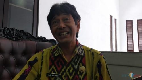 Kepala BPBD Kota Malang, Alie Mulyanto (Pipit Anggraeni/MalangTIMES).