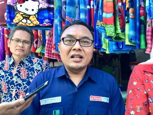 Direktur Perumdam Among Tirto Kota Batu Sunaedy. (Foto: Irsya Richa/MalangTIMES)