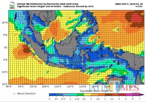 Pantai Selatan Malang Tak Masuk Radar Gelombang Tinggi, BMKG Tetap Imbau Warga Waspada