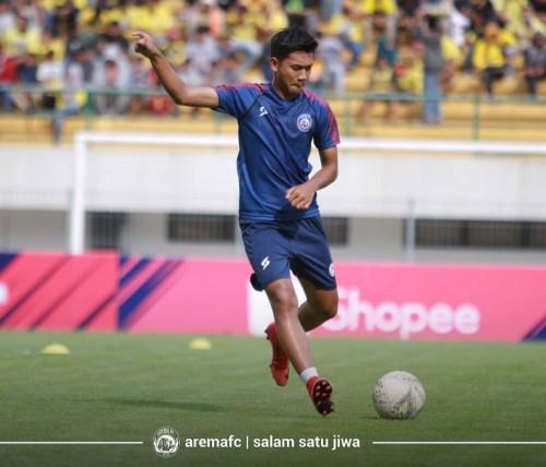 Gelandang muda Arema FC, Titan Agung (official Arema FC)