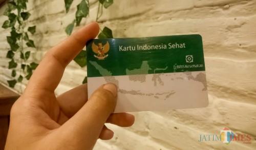 Kartu Indonesia Sehat BPJS. (Foto: Ima/MalangTIMES)