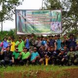 Forkom LMDH dan Perhutani BKPH Tulungagung Reboisasi di Kawasan Hutan Lindung Gondang Gunung