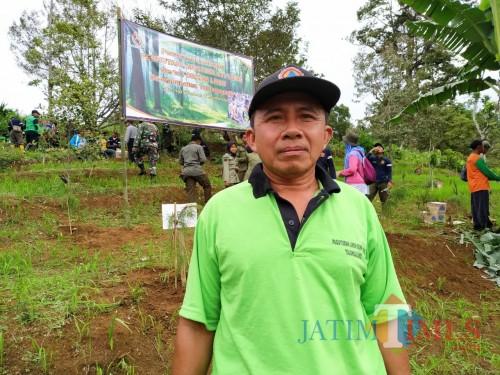 Ketua Forum Komunikasi LMDH se Kabupaten Tulungagung, Eko Sujarwo (Foto: Anang Basso / TulungagungTIMES)