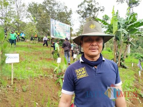 Asper BKPH Tulungagung KPH Kediri, Appanuddin (Foto: Anang Basso/ TulungagungTIMES)