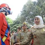 Peringatan K3 Nasional, Gubernur Khofifah Gelorakan DUDI Nihil Kecelakaan Kerja